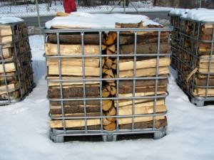 Rovnané palivové dřevo